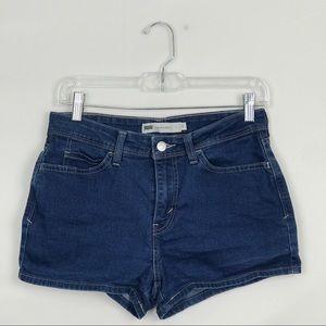 Levi's Shorts - Levi High Rise Short